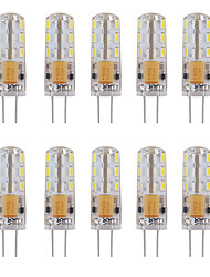 2 G4 Luces LED de Doble Pin Tubo 24 SMD 3014 144 lm Blanco Cálido / Blanco Fresco Decorativa AC 12 V 10 piezas