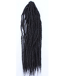 4 Different Color Long Size Senegal Crochet Twist Hair Braids 24 Low Price Sale.