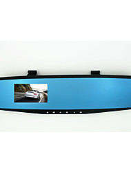 Rearview Mirror Tachograph Vehicle Data Recorder / Insurance Gift Blue Mirror Anti Glare