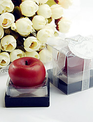 Mini Apple Candle Bridesmaids / Bachelorette / Fairytale / Recipient Gifts / DIY Tea Party Favor