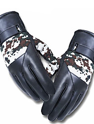 Anti Slip Thickened Wind Proof Full Finger Motorcycle Camouflage Touch Gloves
