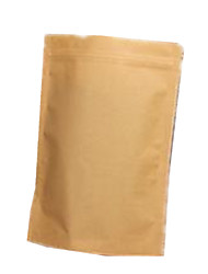 Seven 24 * 34  4.5 Window Film Kraft Food Ziplock Bags Per Pack