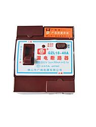автоматический выключатель gzl18-40a бытовые