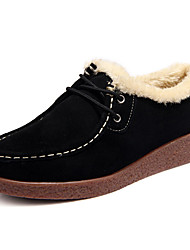 Women's Boots Fall / Winter Snow Boots Rubber Casual Flat Heel  Black / Yellow / Red / Coffee Others