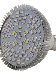 e27 78led 42red18blue6white6ir6uv spectre complet led grow ampoule (AC85-265V)