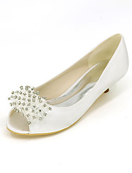 Women's Heels Spring / Summer / Fall Heels / Peep Toe Silk Wedding / Party & Evening