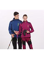 Универсальные Куртка софтшелл для туризма и прогулок Водонепроницаемость Быстровысыхающий С защитой от ветра Ультрафиолетовая