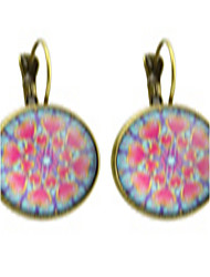 Earring Circle Jewelry Women Fashion / Bohemia Style Party / Daily / Casual Alloy 1 pair Bronze KAYSHINE