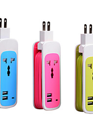 Creative Travel Multi-Functional Smart Socket With Usb Plug-In Patch Panel Smart Phone Charger
