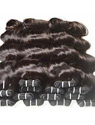unprocessed 7a brazilian virgin hair body wave natural black brown color 50g/pcs brazilian human hair