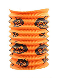 Halloween Props Pumpkin Festival/Holiday Halloween Costumes Orange Print More Accessories Halloween Unisex Paper