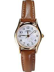 Women's Fashion Watch Quartz / Leather Band Casual Brown