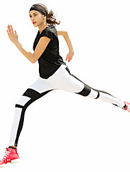 Course / Running Collants Femme Respirable Polyester / ElasthanneYoga / Pilates / Boxe / Escalade / Exercice & Fitness / Sport de détente