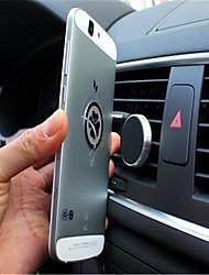 360 grados soporte para teléfono móvil logotipo magnética móvil del coche perezoso de soporte del móvil multifuncional magnético