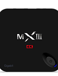 MXIII-G Wireless Set-top Boxes TV Set-Top Box S905 2G / 16G KODI Wifi Network Player