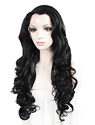 IMSTYLE 26Cheap Long Beautiful Wave Synthetic Lace Front Wigs
