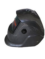casco de soldadura de oscurecimiento auto solar