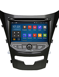 2 din 7 Quad-Core Wifi 1024*600 Android 5.1.1 Car DVD GPS for 2014 SsangYong Korando