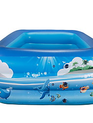 Jeu Gonflable Eau / Sable Toy Outdoor / PVC / Plastique Bleu Pour Enfants Tous