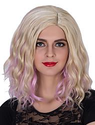 inclinação do ouro moda Euramerican perucas de volume noodles