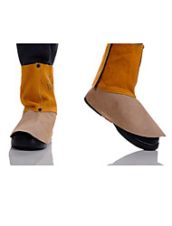 44-2106 Golden Brown Leather Welding Foot Cover  Length 15CM