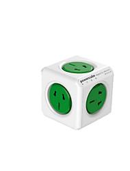 Cube socket intelligent cube socket green along paragraph.