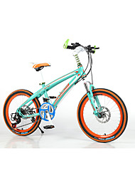 21 Speeds Mountain bike 20 Child Mountain Bikes Unisex kids Disc Brake Red/ Blue/Yellow Colorful Bicicleta