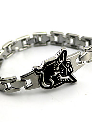 Jewelry Inspired by Pocket Monster PIKA PIKA Anime Cosplay Accessories Bracelet Silver Alloy Male / Female