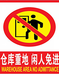 Manufacturers Supply Machinery And Equipment Nameplate Silk Screen Nameplate Product Safety Signs Warning Signs