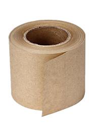 deux 72mm * 18mm environnementales des bandes de papier kraft par paquet