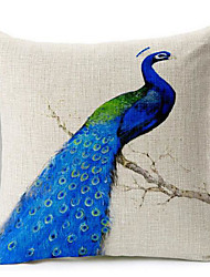 1 pcs Cotton/Linen Pillow CaseNovelty / Animal Print / Graphic Prints Traditional/Classic / Modern/Contemporary