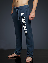 LOVEBANANA Men's Active Pants Dark Blue-34093