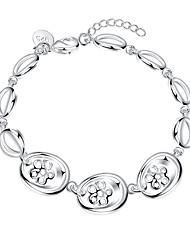 May Polly Europe and the United States three hollow flower bracelet