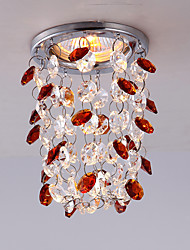 3W Modern Chrome Color Mini Style Crystal Ceiling light