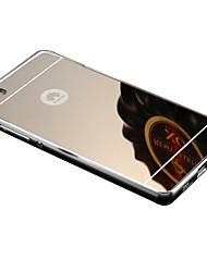 Pour Coque Huawei P8 P8 Lite Plaqué Miroir Coque Coque Arrière Coque Couleur Pleine Dur Acrylique pour HuaweiHuawei P8 Huawei P8 Lite