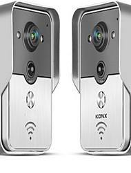 30 170 CMOS Sistema de campainha Sem Fios Campainha de vídeo multifamiliar