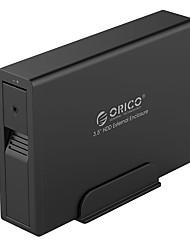 Orico us3 7618 haute vitesse bureau série voir encadré sur le disque dur portable 3,5 pouces sata support 4 tb couleur aléatoire