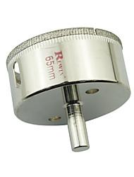 REWIN hulpmiddel gelegeerd staal glas gaten opener hole size-65mm 2 stuks / doos