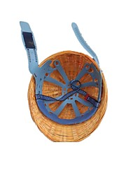 tampa de aço clipe capacete de bambu