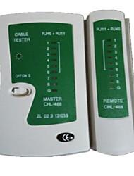 RJ11/RJ45 cable tester