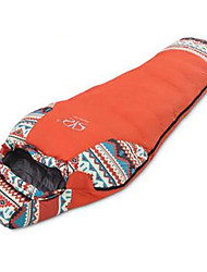 Sleeping Bag Mummy Bag Single -20-15 Duck Down 1500g 220X80 Hiking  Camping  Traveling IndoorMoistureproof