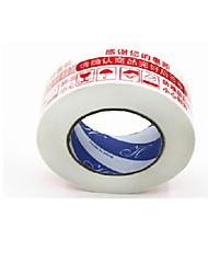 advertencias en rojo tamaño de la cinta 4.4cm * 2.3cm 2 carrete acondicionado para su venta