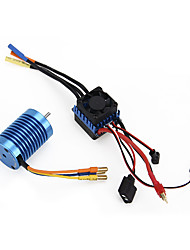 3650 3930KV Sensorless Brushless Motor 45A ESC 6V/2A BEC For 110 RC Car Parts