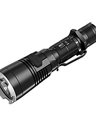 Nitecore® MH27 LED Flashlights/Torch LED 1000 Lumens 4 Mode LED 18650 16340Dimmable Waterproof Rechargeable Impact Resistant Suitable for