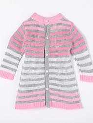 Boy's Casual/Daily Striped Sweater & Cardigan,Cotton Fall Red