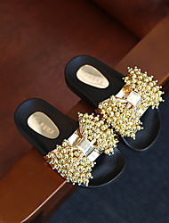 Girl's Slippers & Flip-Flops Summer Slippers / Open Toe  Casual Flat Heel Beading Gold Others