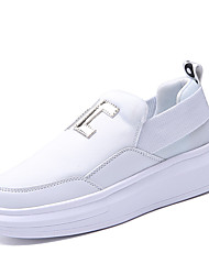 Skateboarding Shoes / Running Shoes / Casual Shoes Men's Anti-Slip / Wearproof Low-Top Leisure Sports White / Black