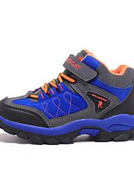 Para Niño-Tacón Plano-Confort-Zapatillas de Atletismo-Exterior / Casual / Deporte-Ante-Negro / Azul Real / Azul Marino