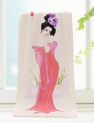 Полотенца для мытья Белый,Жаккард Высокое качество 100%микро волокно Полотенце