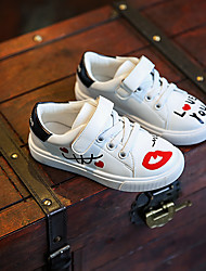 Unisex Flats Spring / Summer / Fall Flats Leatherette Athletic Flat Heel Others White Sneaker